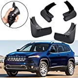 mud flaps for jeep cherokee - SPEEDLONG 4Pcs Car Mud Flaps Splash Guard Fender Mudguard for Jeep Cherokee 2014 2015 2015 2017 2018