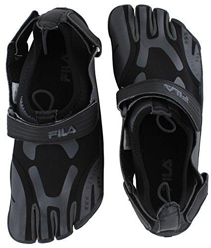 Fila Hombres Fs Zapatillas De Deporte Skele-toes Hechas Por El Hombre Negro / Peltre
