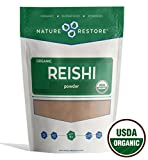 Nature Restore USDA Certified Organic Red Reishi Mushroom Powder, Non-GMO (8 ounces) Review