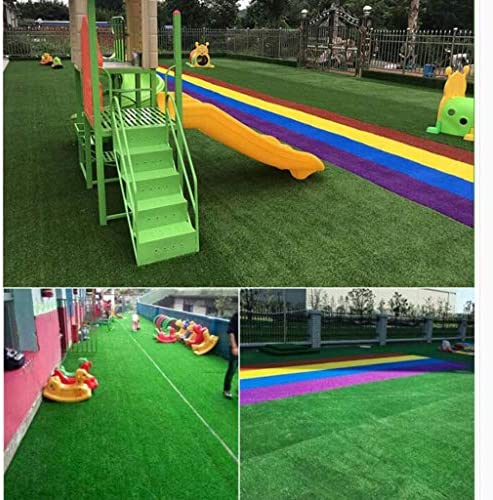 XEWNEG 20MMアウトドア人工ターフ、暗号化/コンフォートソフト/防水/いいえフェージング、多機能ホーム幼稚園の庭の装飾 (Size : 2x7M)