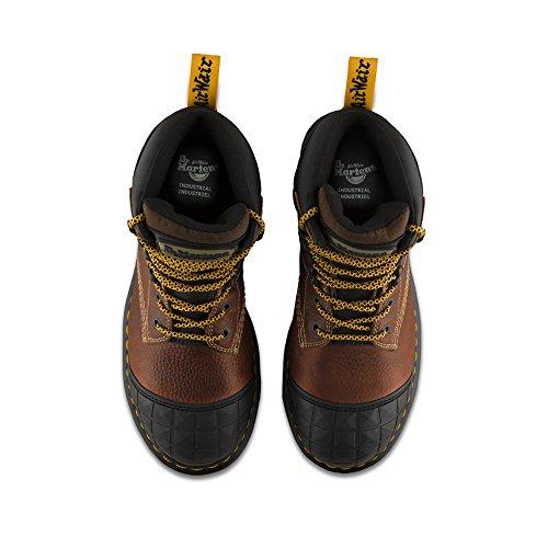 Moreton Toe 3 Steel Tie Brown 8 Martens Dr Boots Women's Us M Uk 5 Eqg44R