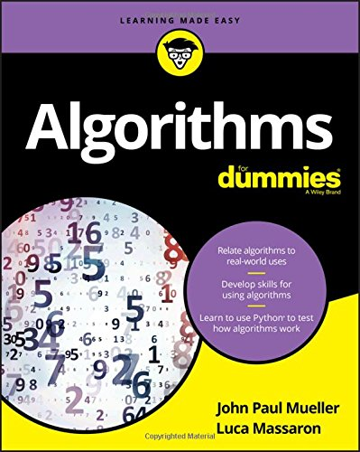 Algorithms For Dummies (For Dummies (Computer/Tech)) by FOR DUMMIES