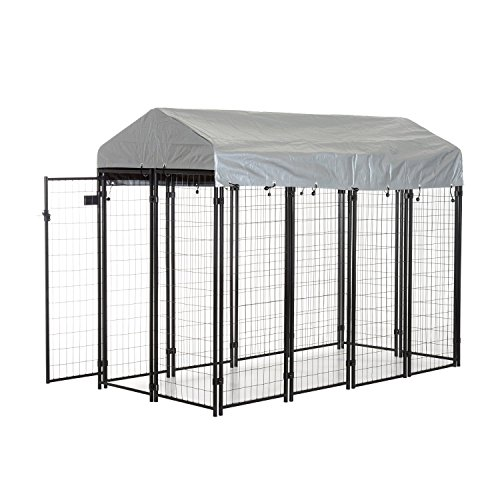 Expert choice for outdoor dog kennel with roof