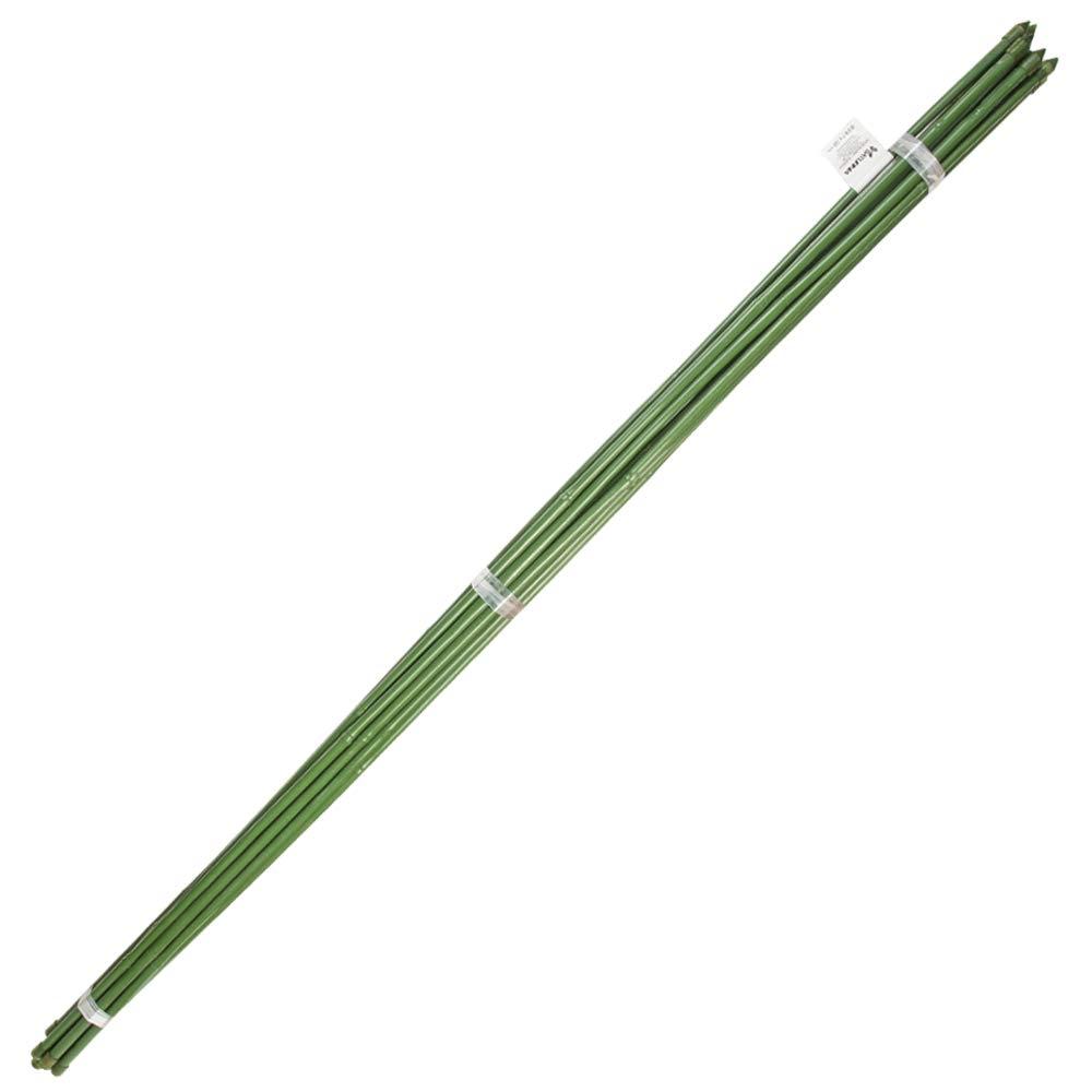 X 180 Cm. Paquete 10 Unidades Tutor Varilla Plastico Efecto Bamb/ú /Ø 12-14 Mm