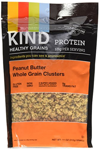 Peanut Butter Whole Grain Cluster, 11 Ounce - 6 per case. ()
