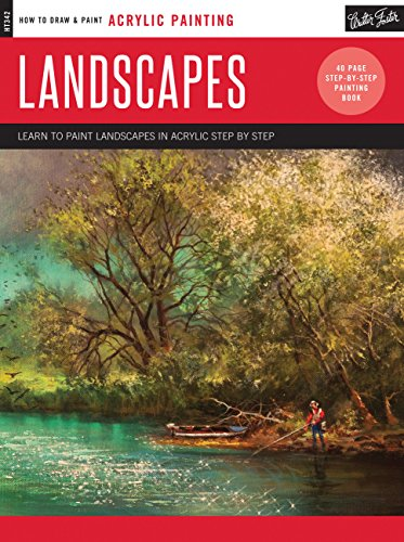 Landscapes: Learn to paint landscapes in acrylic step by step (How to Draw & Paint) (Painting Beginners Acrylic)
