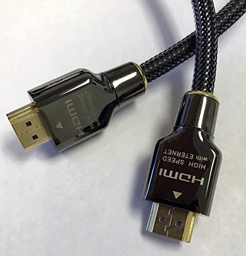 WGGE WG-016 HDMI Cable 2.0 High speed 18Gbps (19 PIN made by copper wire) Gold connectors,Support 4k 1080p 3D TV, Ethernet, Home theater, HDTV, PS3,PS4, XBOX and set-top boxes (Theater Hdtv Home 1080p)