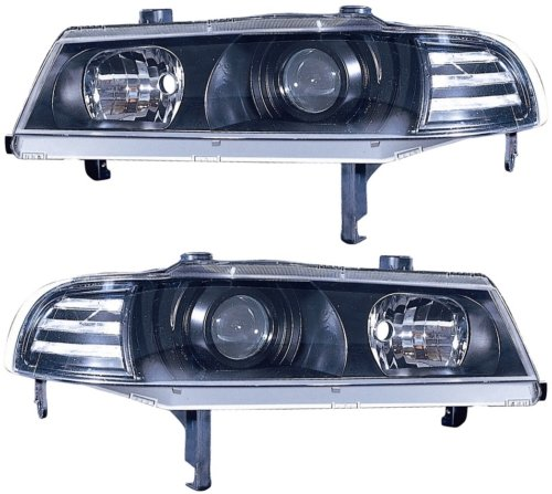Honda Prelude Replacement Headlight Assembly - 1-Pair - Honda Prelude Headlight Replacement