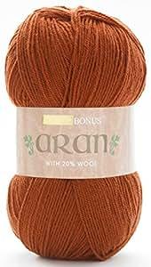 Sirdar 771 - Ovillo de lana para tejer (400 g), color rojo caldera