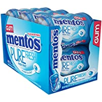 6-Pack of 50-Piece Mentos Pure Fresh Sugar-Free Chewing Gum with Xylitol (Fresh Mint)