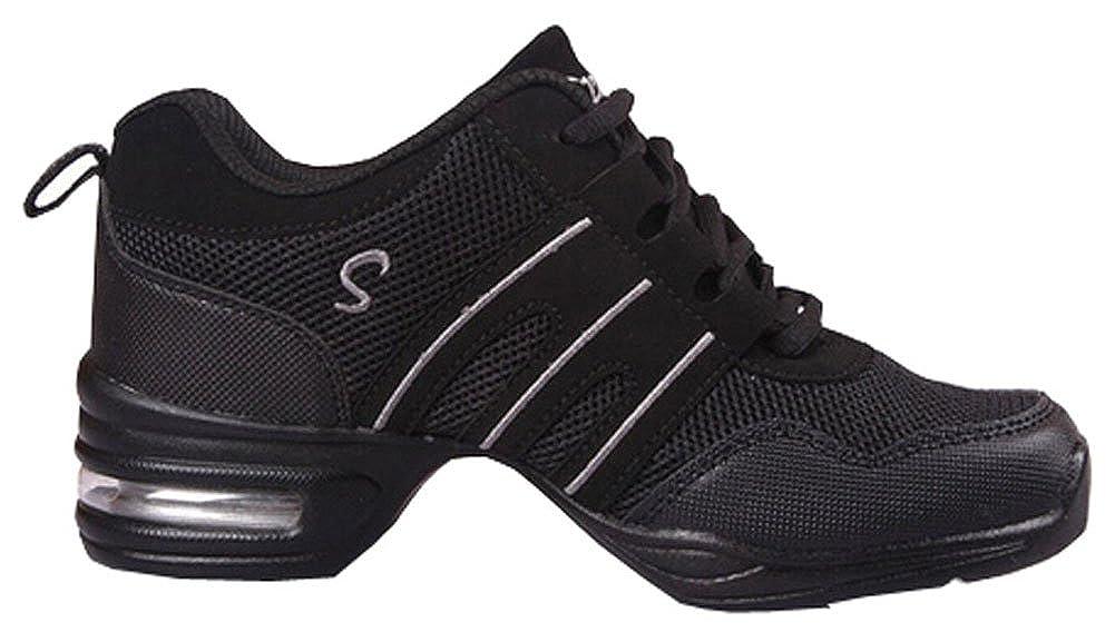 e8929f7e399 Zapatos de Baile Danza Moderna Zapatos de Jazz Movimiento Zapatos de la  Aptitud: Amazon.es: Zapatos y complementos