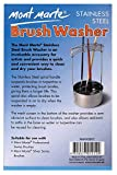 Mont Marte Brush Washer. Stainless Steel Paint