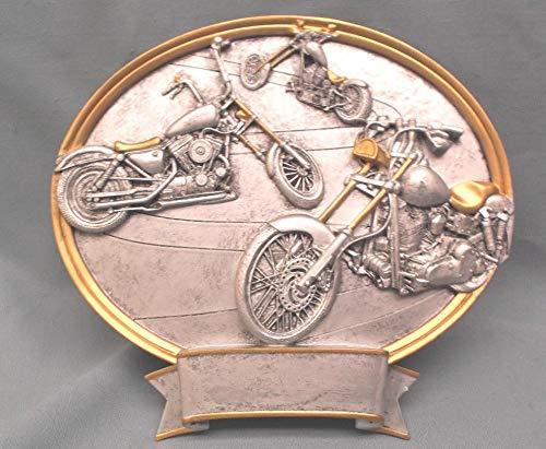 Resin Plaque Racing Award car Show Chopper Trophy PDU 54655GS