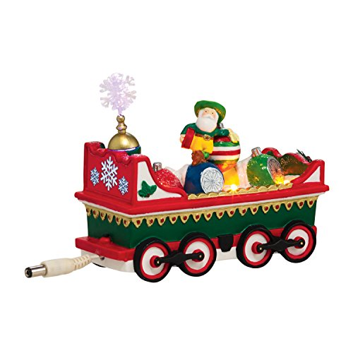 Department 56 North Pole Village Northern Lights Ornament Car Accessory, 2.17 inch