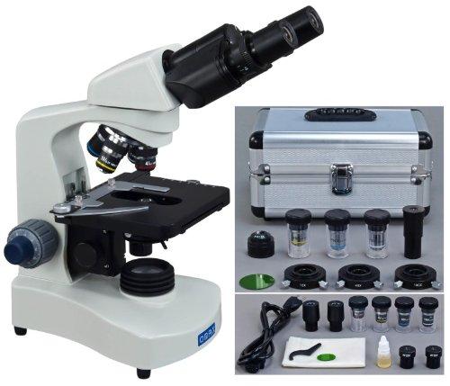 40X2000X Phase Contrast Binocular Compound LED Siedentopf Microscope