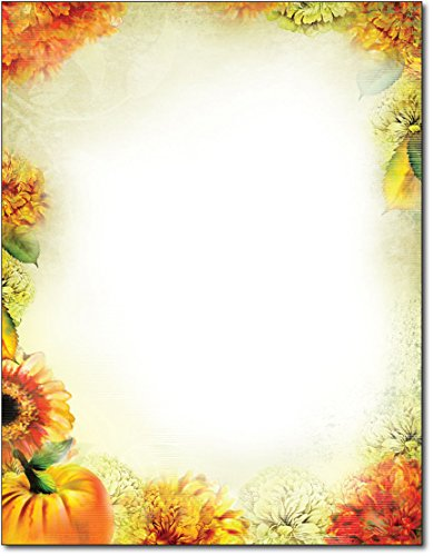 (Autumn Foliage Letterhead - 80 Sheets)