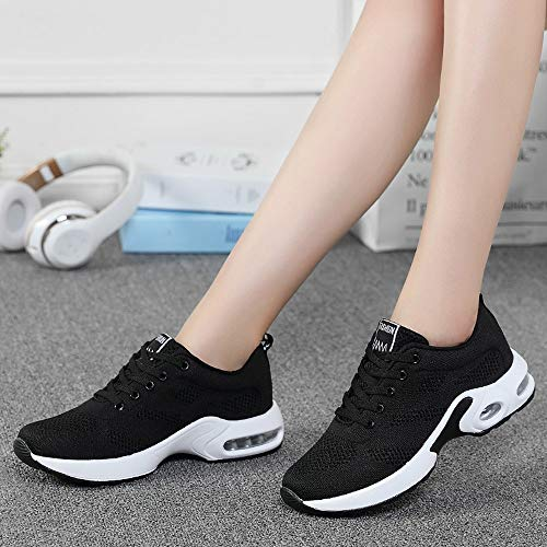 Gyoume Sports Shoes Women Slip On Shoes Running Walking Shoes Student Mesh Shoe by Gyoume (Image #3)