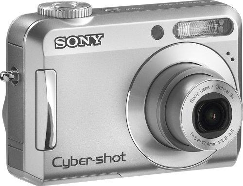 Sony Cybershot S650 7.2MP Digital Camera with 3x Optical Zoom (OLD MODEL) (Sony Cyber Shot Dsc S500 Memory Card)