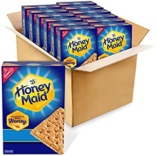 Honey Maid Honey Graham Crackers, 12 - 14.4 oz boxes