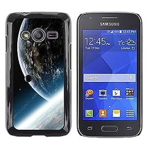 Be Good Phone Accessory // Dura Cáscara cubierta Protectora Caso Carcasa Funda de Protección para Samsung Galaxy Ace 4 G313 SM-G313F // Space Planet Galaxy Stars 33