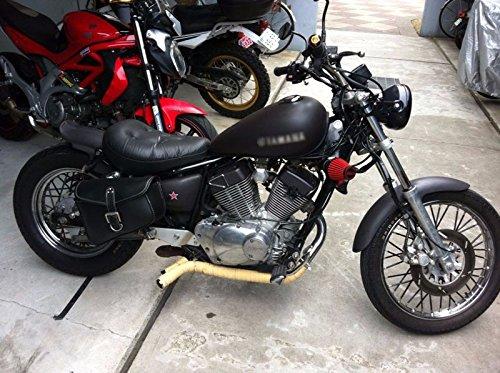 Schwarz Kunststoff Speichenschutz Wrap Cover Protector Skins f/ür Motocross Dirt Bike Enduro
