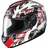 HJC Skarr Men's CS-R2 Sports Bike Racing Motorcycle Helmet - MC-1 / Large