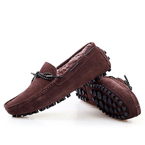 Salabobo - Botas de nieve hombre marrón