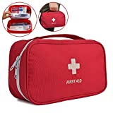 First Aid Bag, Fansport Medical Bag Empty Portable Pouch for Outdoor Home (First Aid Bag)
