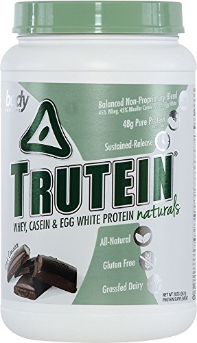 Body Nutrition Trutein Naturals Dark Chocolate Protein Blend 2 LB by Body Nutrition