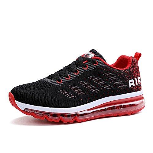 da Traspirante Corsa Scarpe Ginnastica KISCHERS Donna Scarpe Uomo Noir Sportive Rouge Running Sneakers Et xqnYpIawHR