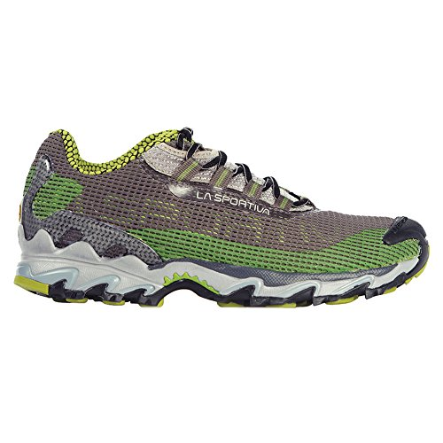 La Sportiva Men's Wildcat Trail Running Shoe,Turtle,41.5 EU/8.5+ M US (Stack Turtle)