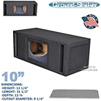 10 DUAL BANDPASS SUBWOOFER BOX