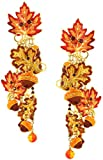 Lunch at The Ritz 2GO USA Autumn Leaves Earrings Clips