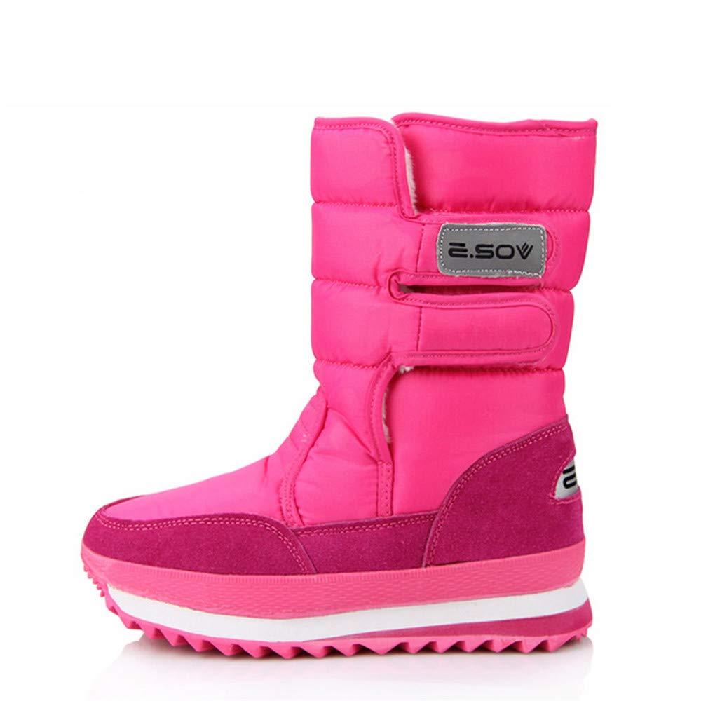 Julitia Fashion Platform Ankle Boots for Women White Snow Boots