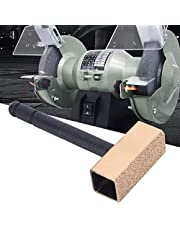 Alloy Anti‑Slip Diamonds Grinding Tool, Portable Stone Dressing Tools, Practical for Grinding Wheels Stone(101302 Black Handle Dresser Large)