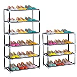 Namivad Cabinet Shoe Rack Home Storage Organizer Large Capacity Portable Shoe Shelf (4-Tier)