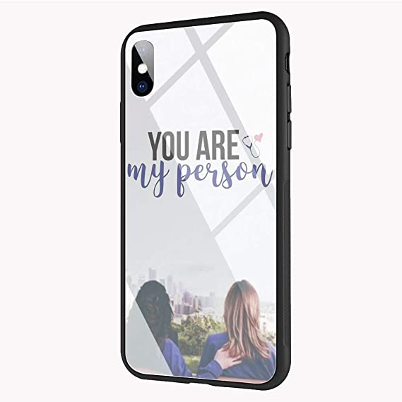 e0ba11ee36c Image Unavailable. Image not available for. Color: DEPING DP-83 Greys  Anatomy Compatible for iPhone Xs ...