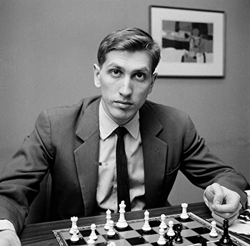 Home Comforts Peel-n-Stick Poster of Bobby Fischer American Chess Grandmaster Art S Artwork Vivid Imagery Poster 24 x 16 Adhesive Sticker Poster Print