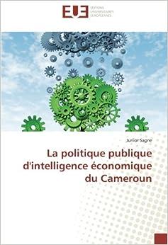 Book La politique publique d'intelligence économique du Cameroun