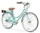 FIRTH SPORTS Nadine SE Women's Aluminum Step-Thru City Bike (Green, 3 Speed/Medium)