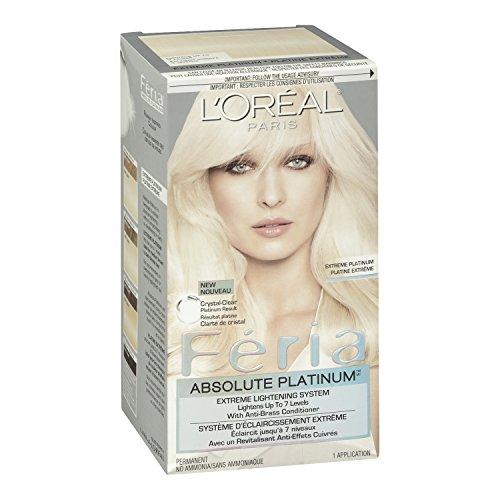 L Oreal Paris Feria Absolute Platinums Hair Color Extreme