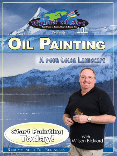 Free Oil Painting: A Four Color Landscape