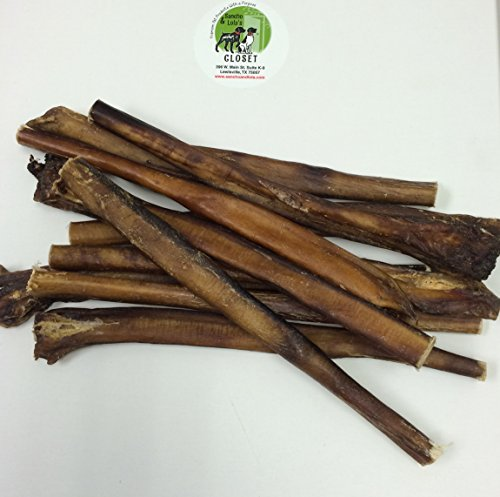 12 thick boutique bully sticks for dogs made in usa 1 6lb deluxe pack. Black Bedroom Furniture Sets. Home Design Ideas