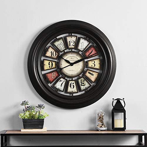 FirsTime & Co. Industrial Chic Wall Clock, 29