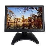 1080P Monitor - Boblov LCD HD Audio Video Monitor HDMI VGA AV BNC Input For Security CCTV Camera DVD PC Home Gaming (10