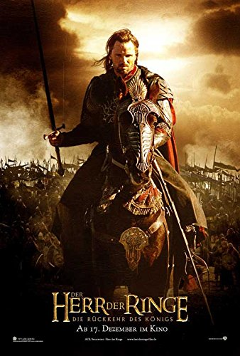 Amazoncom Lord Of The Rings The Return Of The King German C