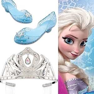 Amazon Com Disney Frozen Elsa Light Up Dress Shoes Sz 11