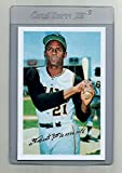 Roberto Clemente Pittsburgh Pirates Baseball Card (Career Stats On The Back) Mint Condition With Card Protector