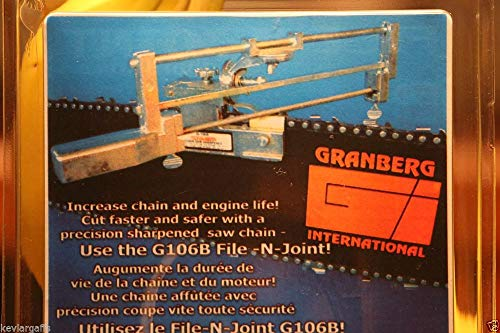 Granberg Chainsaw Chain Precision Sharpening Jig Kit File-N-Joint L14044