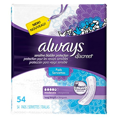 always-discreet-incontinence-pads-moderate-long-length-54-count